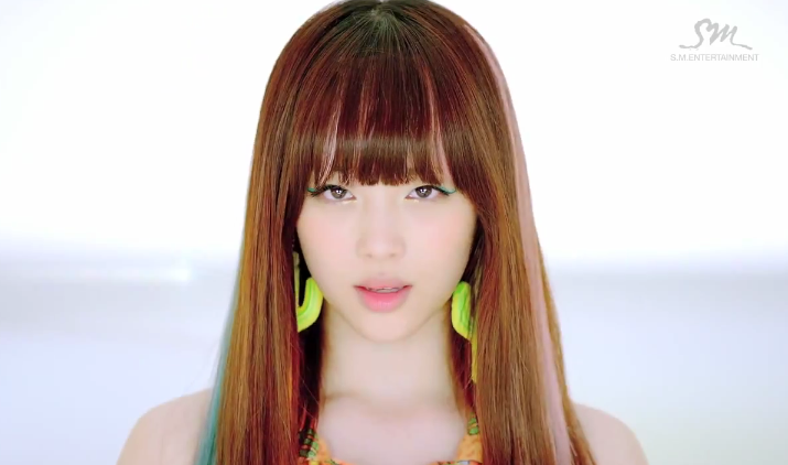 Sulli sounded cute  as usual  with the doctor line Electric Shock Hair Fx